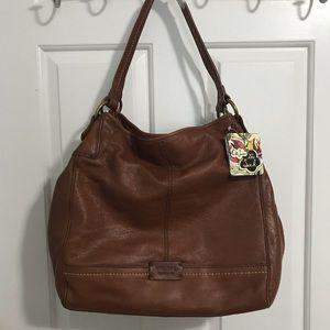 """The SAK Leather """"Teak"""" Shoulder Bag"""